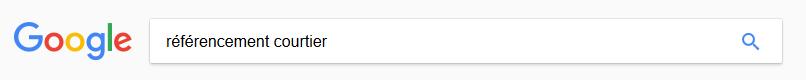 referencement courtier sur Google